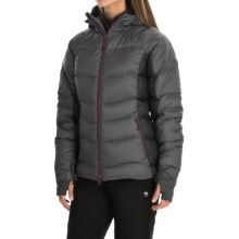 Jack Wolfskin Svalbard II Down Jacket - 700 Fill Power (For Women) in Dark Steel - Closeouts