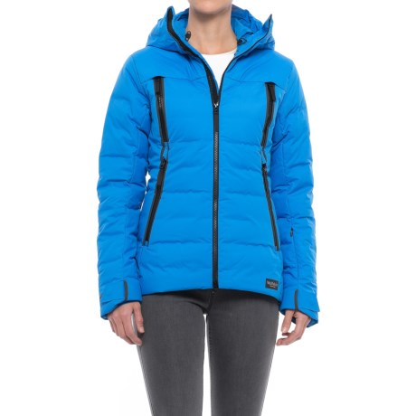 Jack Wolfskin Tech Lab Copenhagen Down Jacket - 700 Fill Power (For Women) in Azure Blue