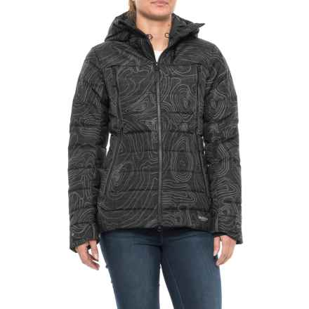 Jack Wolfskin Tech Lab Copenhagen Night Down Jacket - 700 Fill Power (For Women) in Black - Closeouts