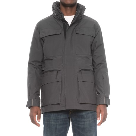 Jack Wolfskin Tech Lab Ocean Bay 3-in-1 Jacket - Waterproof (For Men) in Phantom