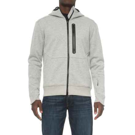 Jack Wolfskin Tech Lab Tribeca Hooded Jacket (For Men) in Grey Heather - Closeouts