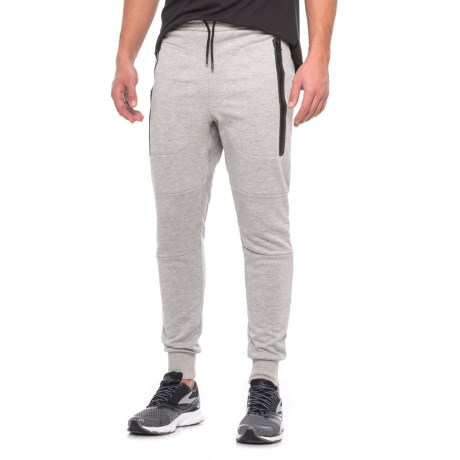 Jack Wolfskin Tech Lab Tribeca Joggers (For Men) in Grey Heather
