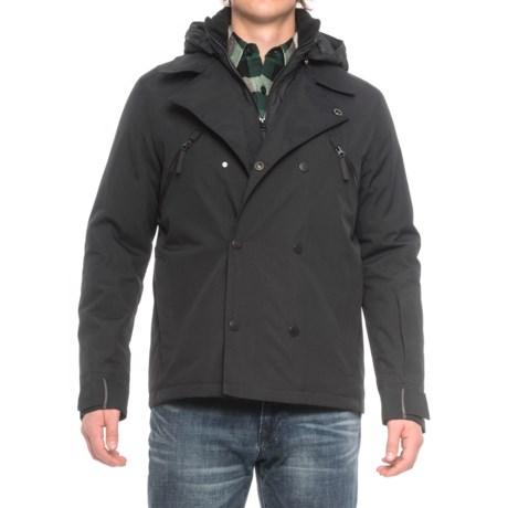 Jack Wolfskin Tech Lab Williamsburg Jacket - Waterproof, Insulated (For Men) in Black