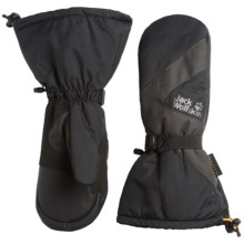 Jack Wolfskin Texapore Mittens - Waterproof, Insulated (For Men and Women) in Black - Closeouts