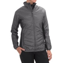 Jack Wolfskin Thermosphere II Jacket - Insulated (For Women) in Dark Steel - Closeouts