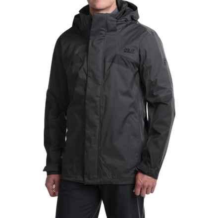 Jack Wolfskin Topaz II Texapore Jacket - Waterproof, Windproof (For Men) in Phantom - Closeouts