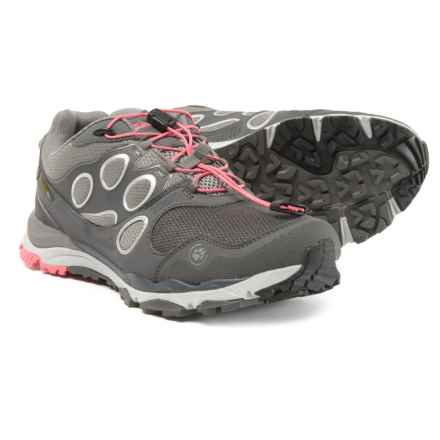 Jack Wolfskin Trail Excite Low Texapore Trail Running Shoes (For Women) in Rosebud - Closeouts