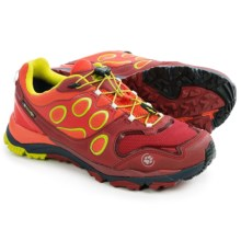 Jack Wolfskin Trail Excite Low Texapore Trail Running Shoes - Waterproof (For Men) in Dark Coral - Closeouts