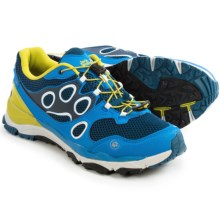 Jack Wolfskin Trail Excite Low Trail Running Shoes (For Men) in Moroccan Blue - Closeouts