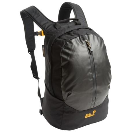 Jack Wolfskin Turtle Backpack in Black