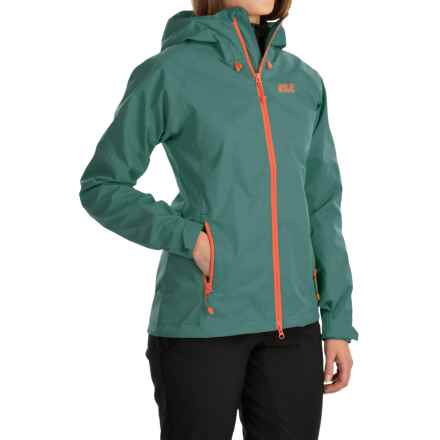 Jack Wolfskin Velican Texapore Air Jacket - Waterproof (For Women) in North Atlantic - Closeouts