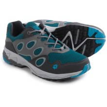 Jack Wolfskin Venture Fly Low Trail Running Shoes (For Men) in Brilliant Blue - Closeouts