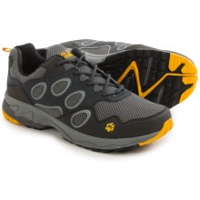Jack Wolfskin Venture Fly Low Trail Running Shoes (For Men) in Burly Yellow - Closeouts
