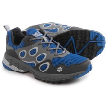 Jack Wolfskin Venture Fly Low Trail Running Shoes (For Women) in Peacock Blue - Closeouts