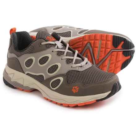 Jack Wolfskin Venture Fly Low Trail Running Shoes (For Women) in Watercress Blossom - Closeouts