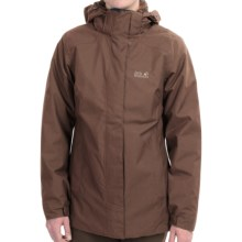 Jack Wolfskin Vernon Texapore Jacket - Waterproof, Insulated, 3-in-1 (For Women) in Mocca - Closeouts