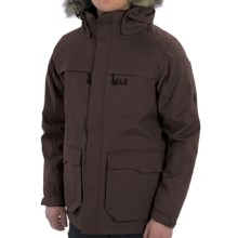 Jack Wolfskin Westport Texapore Jacket - 3-in-1, Waterproof, Insulated (For Men) in Mocca - Closeouts