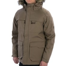 Jack Wolfskin Westport Texapore Jacket - 3-in-1, Waterproof, Insulated (For Men) in Siltstone - Closeouts