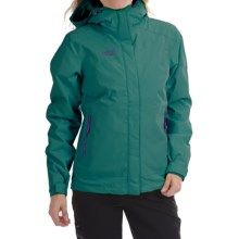 Jack Wolfskin Winterhawk Texapore Jacket - Waterproof, 3-in-1 (For Women) in Dark Peppermint - Closeouts