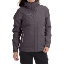 Jack Wolfskin Winterhawk Texapore Jacket - Waterproof, 3-in-1 (For Women) in Dark Steel - Closeouts
