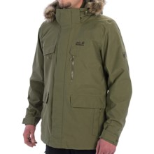 Jack Wolfskin Yakima Texapore Parka - Waterproof, 3-in-1 (For Men) in Burnt Olive - Closeouts