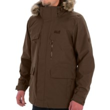 Jack Wolfskin Yakima Texapore Parka - Waterproof, 3-in-1 (For Men) in Mocca - Closeouts