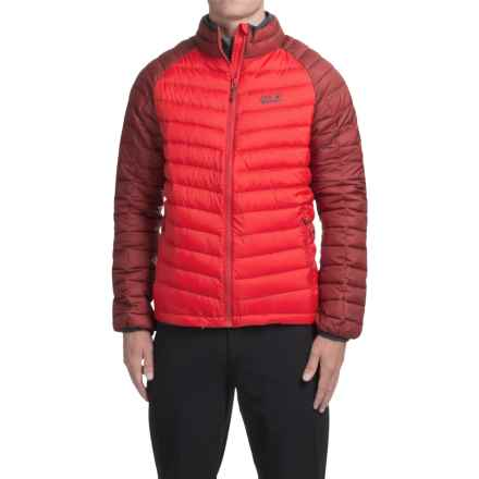 Jack Wolfskin Zenon Basic Down Jacket - 700 Fill Power (For Men) in Red Fire - Closeouts