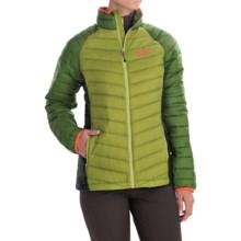 Jack Wolfskin Zenon Basic Down Jacket - 700 Fill Power (For Women) in Earl Green - Closeouts