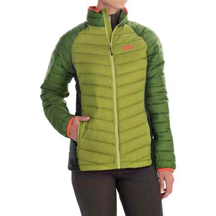 Jack Wolfskin Zenon Basic Down Jacket - 700 Fill Power (For Women) in Earl Green - Closeouts