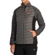Jack Wolfskin Zenon Basic Down Jacket - 700 Fill Power (For Women) in Tarmac Grey - Closeouts