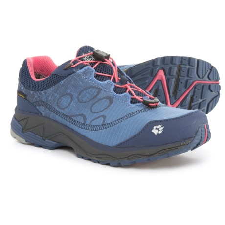 Jack Wolfskin Zenon Track Texapore Low Trail Running Shoes - Waterproof (For Women) in Rosebud