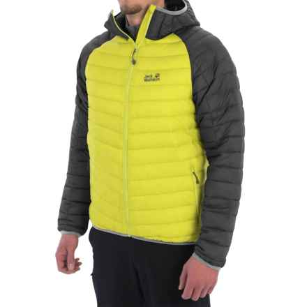 Jack Wolfskin Zenon XT Down Jacket - 700 Fill Power (For Men) in Bright Absinth - Closeouts