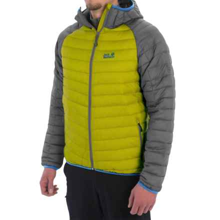 Jack Wolfskin Zenon XT Down Jacket - 700 Fill Power (For Men) in Wild Lime - Closeouts