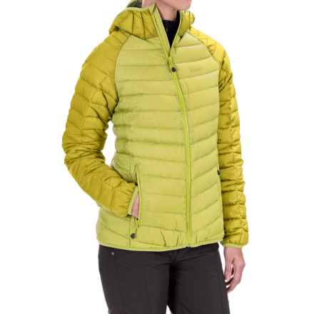 Jack Wolfskin Zenon XT Down Jacket - 700 Fill Power (For Women) in Bright Absinth - Closeouts