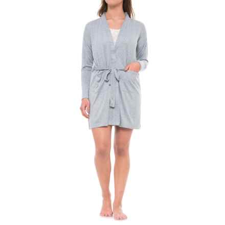 Jaclyn Intimates Whisper Kimono Robe - Long Sleeve (For Women) in  Tradewinds - Closeouts 2540c2be8