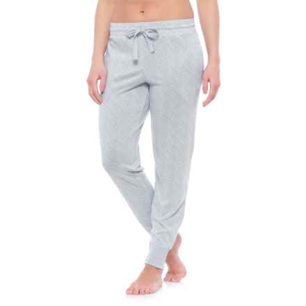 Jaclyn Intimates Whisper Pajama Joggers (For Women) in Highrise Grey - Closeouts