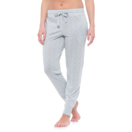 Jaclyn Intimates Whisper Pajama Joggers (For Women) in Highrise Grey