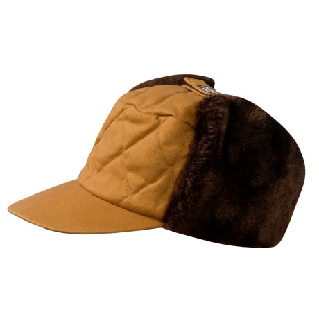 Jacob Ash Attaboy Quilted Hat - Insulated (For Men and Women) in Brown/Tan