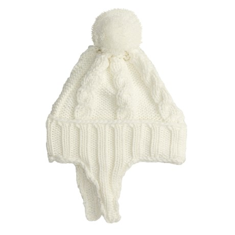 Jacob Ash Attakid Kiddie Kable Flap Cap Hat (For Kids) in Turtledove