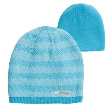 Jacob Ash Attakid Knit Beanie Hat - Reversible (For Toddler Girls) in Glacier Blue Combo - Closeouts