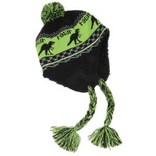 Jacob Ash Attakid Rawr Knit Hat (For Toddlers) in Anthracite - Closeouts