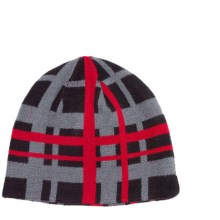Jacob Ash Attakid Reversible Beanie Hat (For Boys) in Anthracite - Closeouts