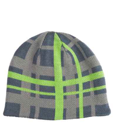Jacob Ash Attakid Reversible Beanie Hat (For Boys) in Castlerock - Closeouts