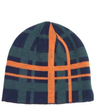 Jacob Ash Attakid Reversible Beanie Hat (For Boys) in Peacoat - Closeouts