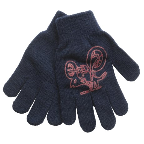 Jacob Ash Attakid Super Stretch Magic Gloves One Size (For Kids) in Green/Tan Tanks And Choppers