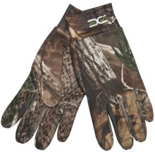 Jacob Ash Bronco XSF Stretch Microfleece Gloves (For Men) in Realtree Ap - Closeouts
