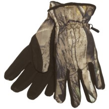 Jacob Ash Camo Gloves - Deer Suede Palm, Insulated (For Men) in Realtree Ap - Closeouts