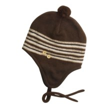 Jacob Ash EcoRaggs® Flap Hat w/Twisted Tassel (For Women) in Chocolate - Closeouts