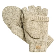 Jacob Ash EcoRaggs® Pop-Top Mitten-Gloves - Insulated (For Men) in Oatmeal - Closeouts