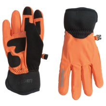 Jacob Ash Hot Shot Arrow Windstopper® Utility Gloves (For Men and Women) in Blaze Orange - Closeouts